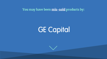 You may have been mis-sold products by ge capital